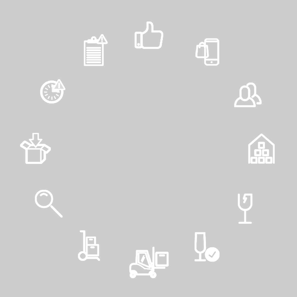 FDL Technology icon designs for website usage