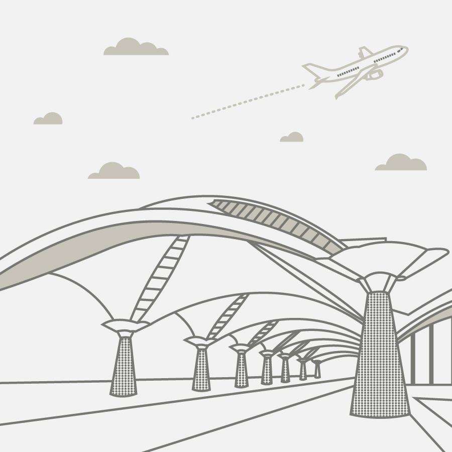 Illustration of Kuala Lumpur International Airport (KLIA)