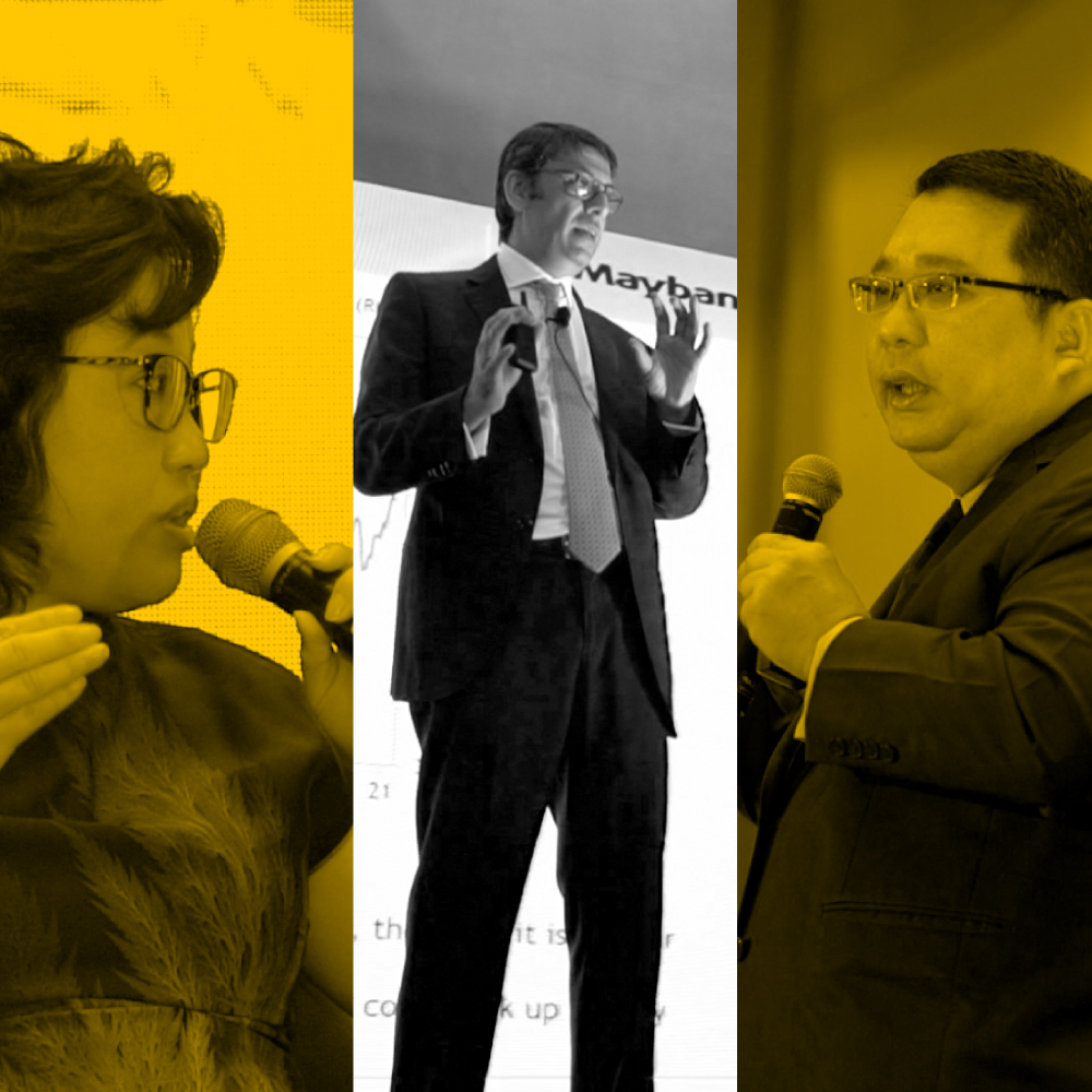 Maybank Premier Wealth market outlook speakers on the upcoming year's prediction