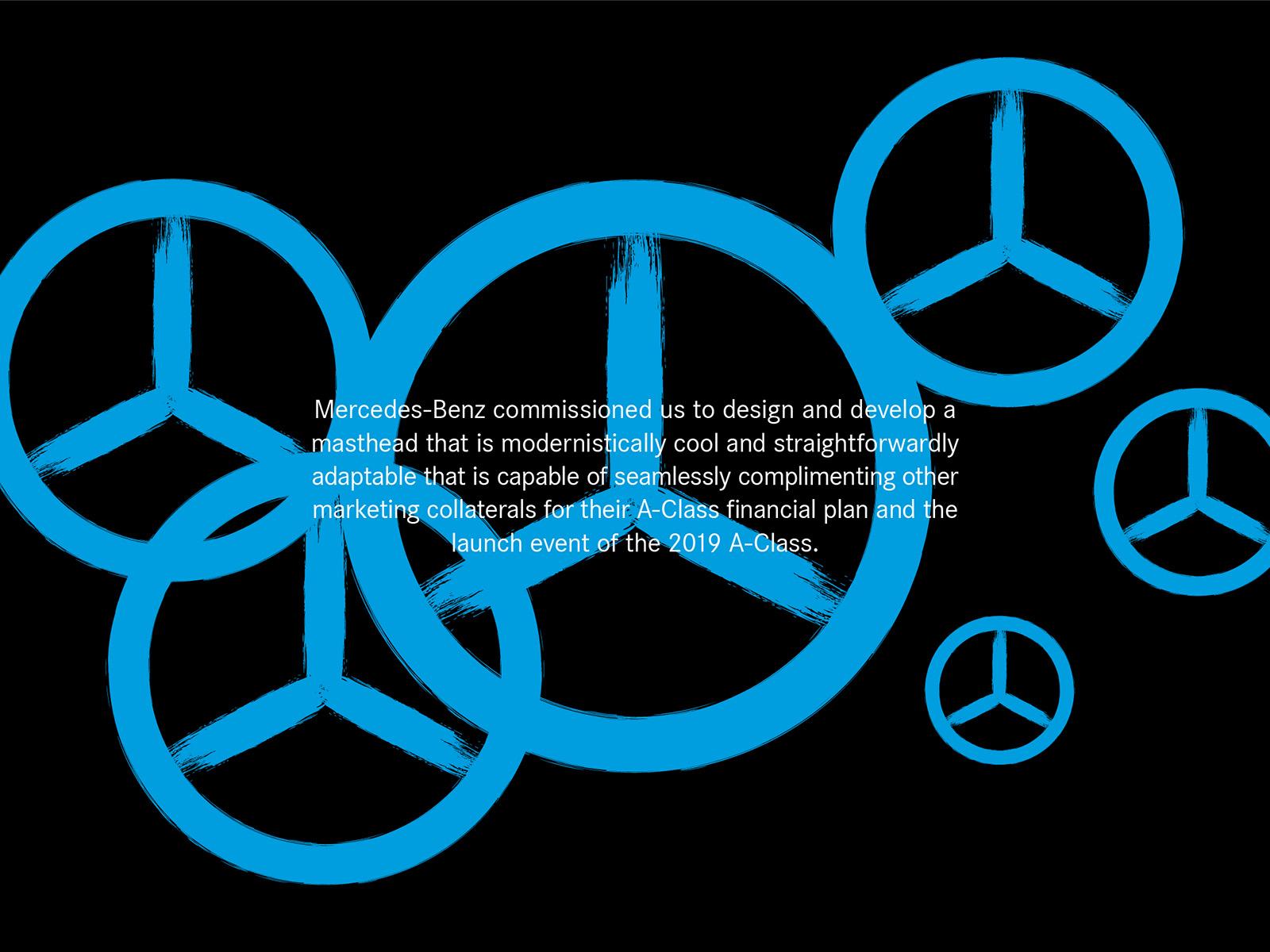 Mercedes-Benz Plan A financing plan design brief