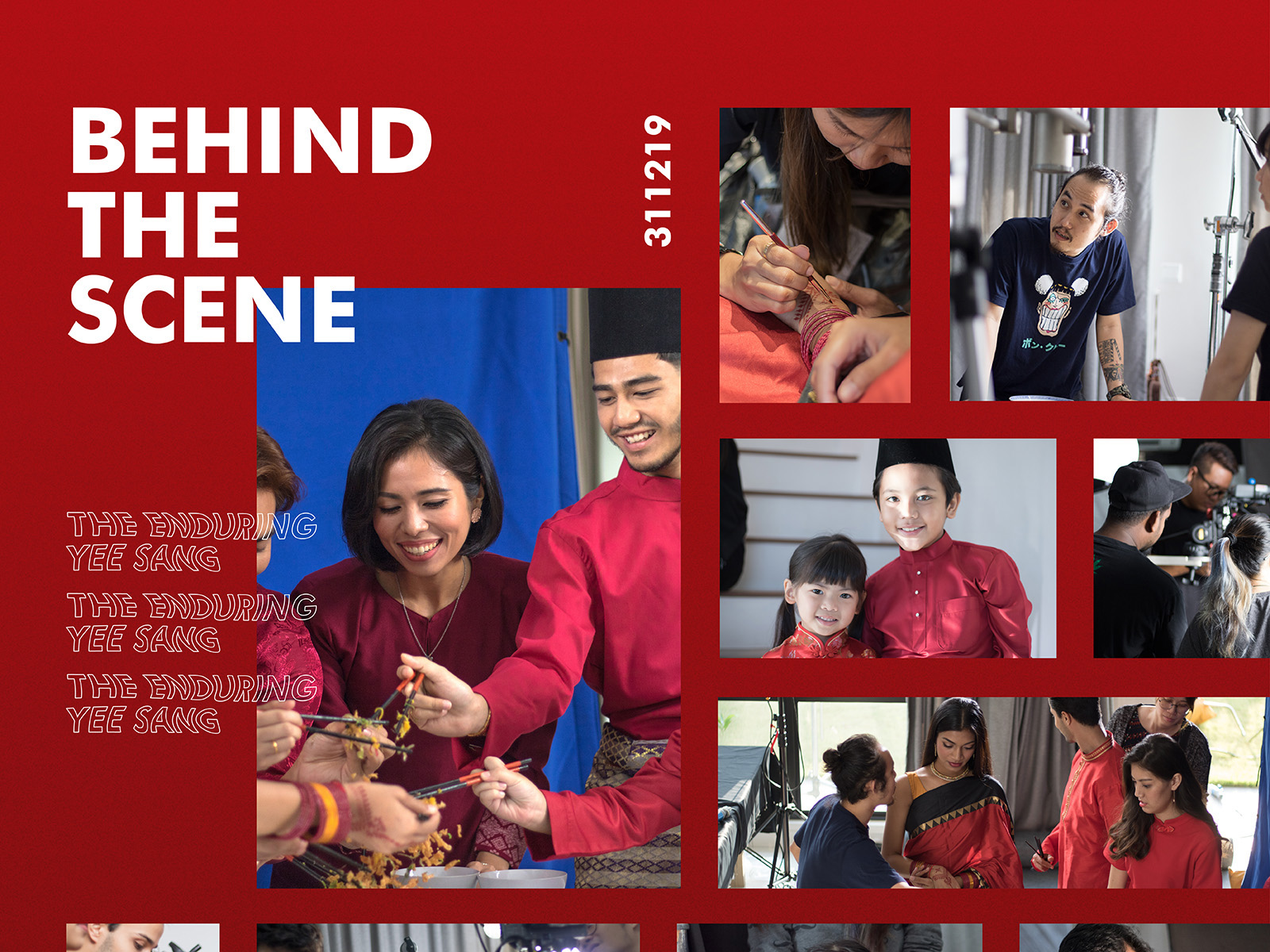 Sime Darby Chinese New Year 2020 campaign festive video development with behind the scenes production